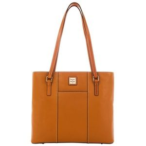 Dooney & Bourke Caramel Leather Lexington Tote